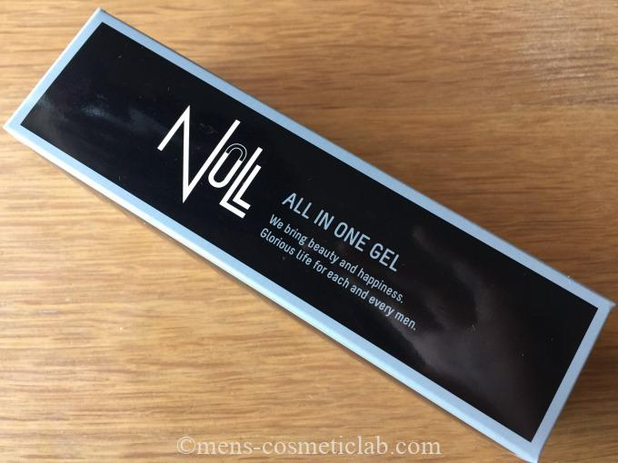 NULLオールインワンジェルの容器